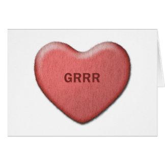 """De Kaart van """"Grrr"""" Valentijn"""