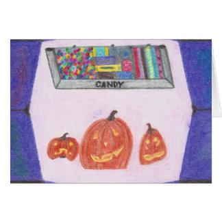De Kaart van Halloween van het Einde van de Winkel