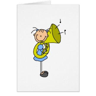 De Kaart van het Cijfer van de Stok van de tuba