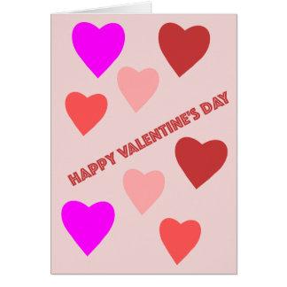 De Kaart van het Hart van de Valentijnsdag