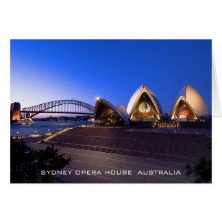 De Kaart van het Huis van de Opera van Sydney
