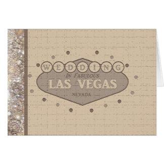 De Kaart van het Huwelijk van Las Vegas