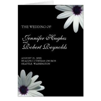 De Kaart van het Programma van het Huwelijk van de
