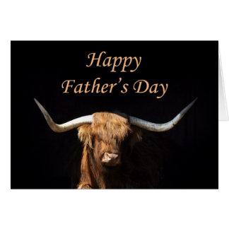 De kaart van het Vaderdag van de stier