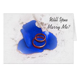 De Kaart van het Voorstel van het huwelijk zal u