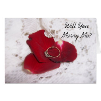 De Kaart van het Voorstel van het huwelijk zal u m