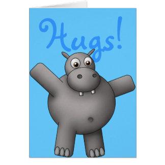 De Kaart van Hippo van Huggable