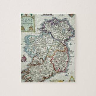 De Kaart van Ierland - de Ierse Historische Kaart Legpuzzel