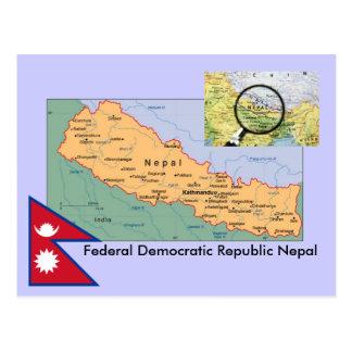 De Kaart van Nepal