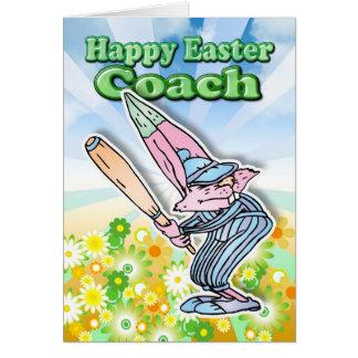 De Kaart van Pasen - de Bus van het Honkbal van de