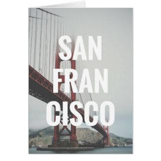 De Kaart van San Francisco