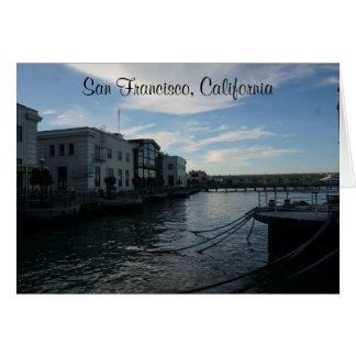 De Kaart van San Francisco Embarcadero #7-2