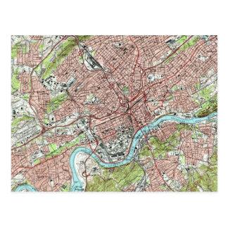 De Kaart van Tennessee van Knoxville (1978)