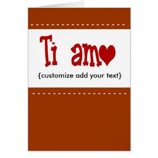 De Kaart van Ti Amo