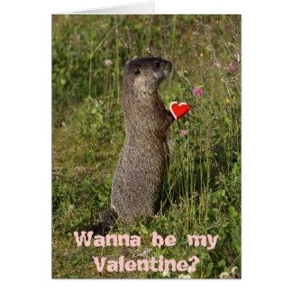 De Kaart van Valentijn van de marmot