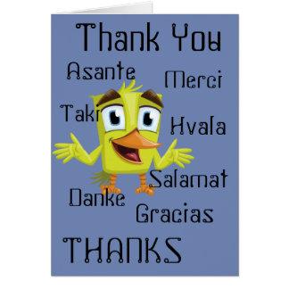 De Kaart van veel Bedankt
