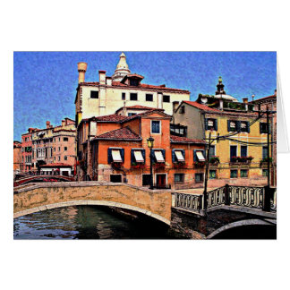 De Kaart van Venetië Italië - (spatie binnen)