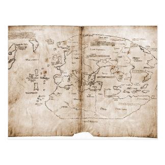 De kaart van Vinland
