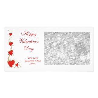 De Kaarten van de Foto van Valentijn van harten en Persoonlijke Fotokaarten