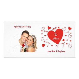 De Kaarten van de Foto van Valentijn van het Fotokaart