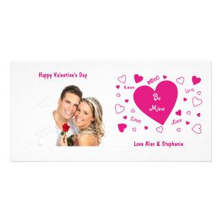De Kaarten van de Foto van Valentijn van het Fotokaarten