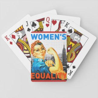 De Kaarten van de Gelijkheid van vrouwen