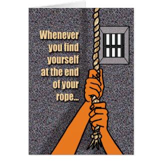 De Kaarten van de gevangenis - Eind van Kabel