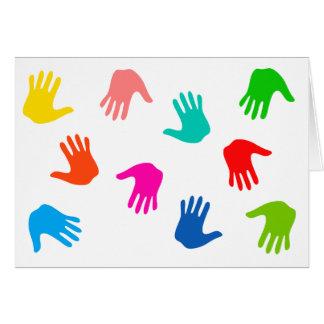 De Kaarten van de Nota van Handprints