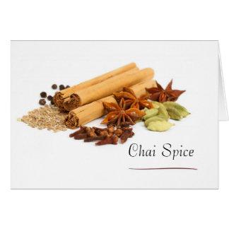 De Kaarten van de Nota van het Kruid van Chai