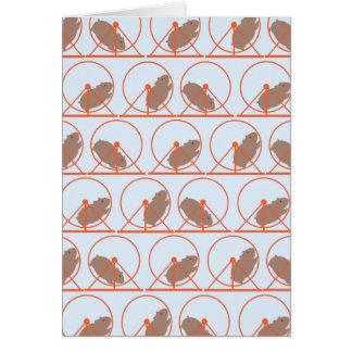 De Kaarten van de Nota van het Wiel van de hamster