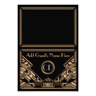 De Kaarten van de Plaats van de Escorte van het 8,9x12,7 Uitnodiging Kaart