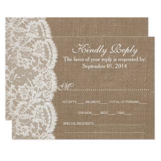 De kaarten van het Collectie RSVP van het Huwelijk Kaart