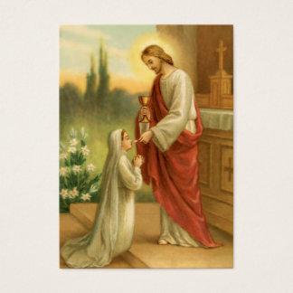 De Kaarten van het gebed: Avondmaal in Alle Dingen Visitekaartjes