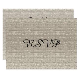 De Kaarten van het Jubileum RSVP van het huwelijk, 8,9x12,7 Uitnodiging Kaart