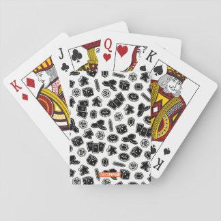 De Kaarten van het Patroon van het Spel van de