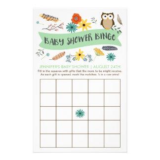 De Kaarten van het Spel van Bingo van het Baby Flyer 14 X 21,6 Cm