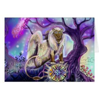 De kaarten van Lion~greeting van de hemel