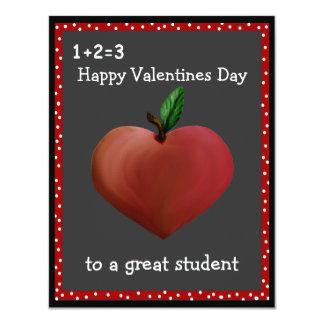 De Kaarten van Valentijn van de leraar