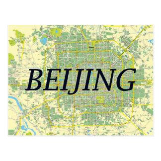 De kaartkaart van Peking Briefkaart
