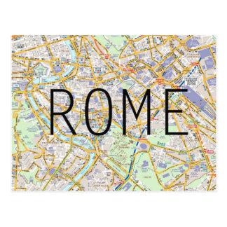 De kaartkaart van Rome Briefkaart