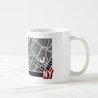 De kaartMok van New York Koffiemok