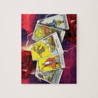 De kaartraadsel van het tarot puzzel