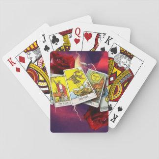 De kaartspeelkaarten van het tarot speelkaarten