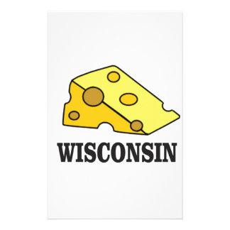 De kaashoofd van Wisconsin Briefpapier