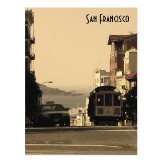 De Kabelwagen van San Francisco Briefkaart