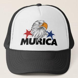 De kale adelaar van Murica Trucker Pet