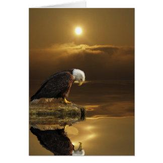 De kale Reeks van de DANKBAARHEID van Eagle Kaart