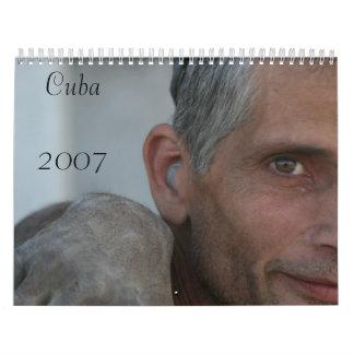 De Kalender 2007 van de Foto van Cuba
