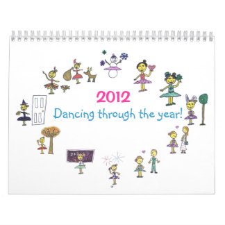 De Kalender 2012 van de dans
