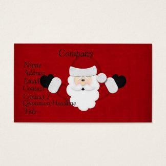 De Kalender 2012 van de kerstman Visitekaartjes